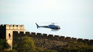 10 mins helicopter tour around the Mutianyu Great Wall(main route)